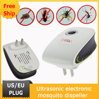 Free Ship Household items Eco-Friendly Electronic Ultrasonic Pest Repellent Anti Mosquito Insect Mouse Repeller Killer