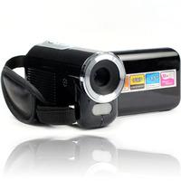 "New Hot 1.5"" TFT LCD 16MP HD 720P Digital Video Camcorder Camera 8x Digital ZOOM DV Black Freeshipping&wholesale"