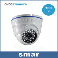 CCTV CMOS 700TVL Dome Security Camera 24IR Day/Night Surveillance Camera 3.6mm Wide Lens Free Shipping