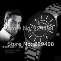 Retail 2014 New Top Quality SINOBI Brand Quartz Analog Women Men Watches,3 Colors Good Quality Stainless Steel Unisex Wristwatch