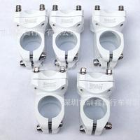 *Retail* Aluminum Alloy 32mm/80mm MTB Mountain Road Bike Bicycle Handlebar Stem 25.4/31.8mm Diameter Clamp White New