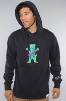 GRIZZLY GRIP x Diamond Supply Co hoodie sweatshirt fashion hip hop sweats new 2015 rock hooded pullover sportswear sweater