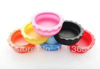 Free shipping  Bottle cover Beer/Wine bottle saver 24pcs/lot silicone beer bottle caps Seal well/High silica content