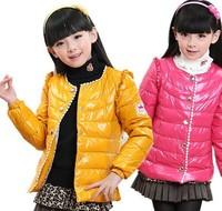 Children down Coat 2014 fashion Children winter long warm coat children high jacket girls coats