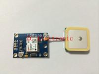 Free shipping! GY-NEO6MV2 new GPS module NEO6MV2 with Flight Control EEPROM MWC APM2.5 large antenna