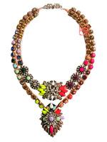 NEW Shourouk necklace chunky rope choker statement necklace fashion pendants Luxury multilayer Necklace  women Christmas gift