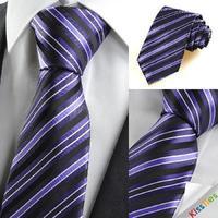 Free delivery man tie silk striped tie work