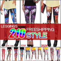 European and American original single print leggings wholesale personalized fashion new ladies flower pants milk silk pantyhose