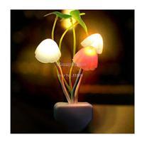 Novelty modern sconce twilight fixtures children toys Mushroom night light ornamental flowerpot wall lamps 220V led lights 19265