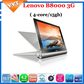 "Lenovo YOGA tablet 10 B8000 - F 10"" lenovo pad Android 4.2 MT8125 Quad core ideapad IPS Tablet pc 1GB 16GB WiFi GPS thinkpad"