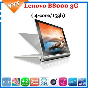 "Lenovo YOGA tablet 10 B8000 - F 10"" lenovo pad Android 4.2 MT8125 Quad core ideapad IPS Tablet pc 1GB 16GB WiFi GPS thinkpad"