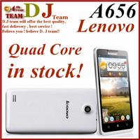 Original Lenovo A656 5 Inch IPS Mtk6589 Quad Core Mobile Phone Russian 512MB 4GB 5.0mp Multi Language