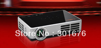 New Mini Handheld Portable DLP Projector FULL HD Proyector Digital 3D Projector 3000 lumens Smart 2D to 3D Best Home Theater