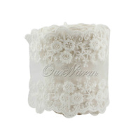 "New 2014,1M For ""Style White"" Beautiful Lace Ribbon Wedding Ceremoney Decor"