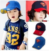 Wholesale baseball caps snapback hats/better the hat and cap/man. High quality fashion hip hop children Superman hat