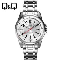 Q q the trend of casual fashion male watch steel strip pointer quartz watch male watch q708j204y