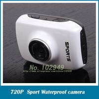 HD 720P Waterproof camera Sport camera  2.0 inch Touch Screen Action Camera Helmet camera Mini Size