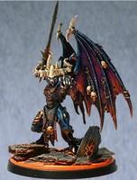 Free Shipping Fantasy Warriors of Chaos Be'lakor, Daemon Prince(Metal Models)