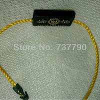 MOQ=5000pcs/custom printed logo fashion seal hang tag /free shipping/string hang tag/plastic tag