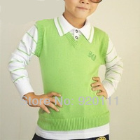 Sale autumn winter 2014 Children's clothing children's sweater pulllover boy's girl's sweater high quality cotton free shipping