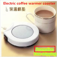 Newest Hot selling Novelty home electric heating warmer coaster, keep coffee,tea warm in the winter