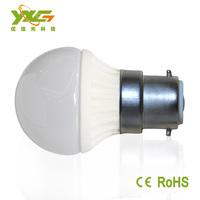 Free shipping 110v 220v 3w B22 led lamp bulb 2700-7000k