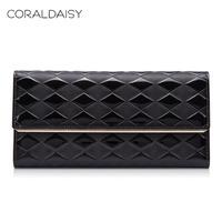 Coraldaisy 2014 spring women's cowhide wallet female cowhide wallet