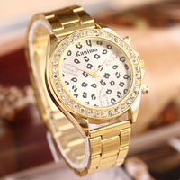 2014 New Fashion Casual Personality Couple Lovers Quartz Watches with Stainless Steel Band Couple Watches Free Shipping