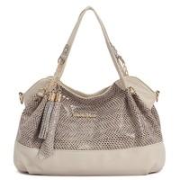 Hot new designer ladies handbag serpentine quality PU leather shoulder bag Messenger bag wholesale, free shipping