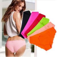 5 pcs/lot Ladies' New VS Ultra-thin Comfort panties Women's Seamless Underwear Panties Briefs