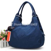 Promotion 2014 Women's Fashion Handbag,Abrasion Resistant Purse Washed Nylon Elegant Tote,New Casual Monkey Shoulder Bag,SJ078