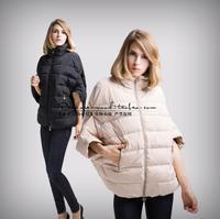 2014 sale full new ladies fashion down coat winter jacket outerwear Bat sleeve in thick women jackets parka overcoat 1520