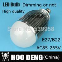 High Brighness Cree chip led bulb lamp 15W 25W 30W Light lamp LED E27 B22 AC85V-220V cool/warm white  free shipping