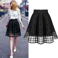 HOT sale 2014 Autumn winter women's Plus size skirts female pencil skirt fashion woolen short skirt saias femininas