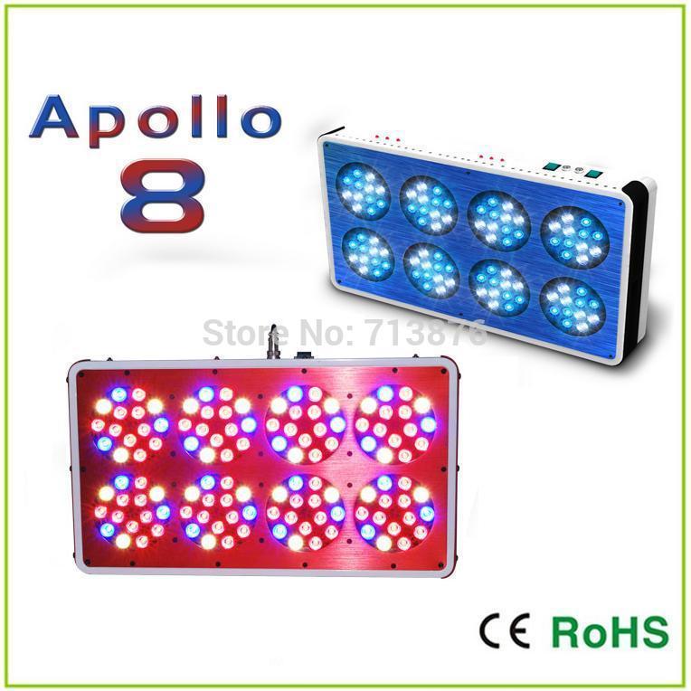 120 High Intensity 3 watt LED's,360W APOLLO 8 LED Grow Light, PAR Light, Grows culture - Green house, Vegetation only(China (Mainland))