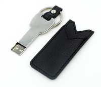 Stock Leather Key usb pen drive 64gb 32gb 16gb 8gb 128mb gift usb with keychain  flash drive memory stick !