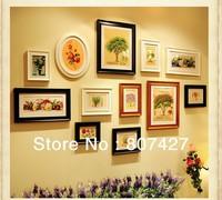 Soild Wood Frame Wall  Wall Frame 12 pcs Set  House Home  Wall Decorate TB111