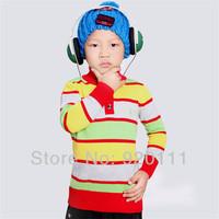 Wholesale 2pcs/lot Boys sweaters kids autumn winter sweater 2014 children sweater pullover cotton boys pullover outerwear