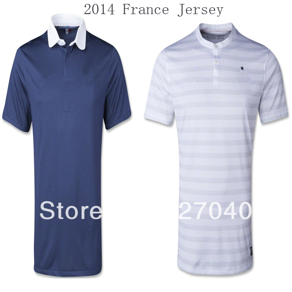 2014 France Jersey Player Version France Away Shirt 2014 Ribery Benzema Giroud Nasri Jersey Soccer France 2014(China (Mainland))