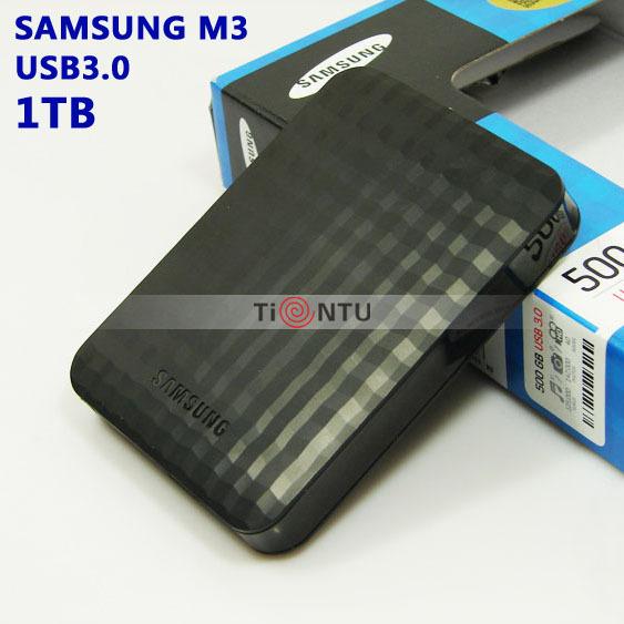 "NEW Samsung M3 2.5"" USB3.0 External Hard Drive 1TB Black HDD Portable disk Hot sales 3 Year Warranty(China (Mainland))"