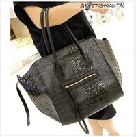 2014 Women Celebrity Phantom Totes Handbag!Womens Phantom PU Leather Crocodile Shopping Handbag!Women's Phantom Shopping Bags