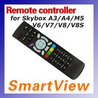 1pc Remote Controller for Skybox V8 V6 V7 V8S V5S A3 A4 A5 M5 F5 F5S satellite receiver free shipping post