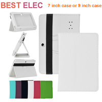 "7 inch leather case,9"" leather case for 7"", 9 "" tablet  ,For 7"" Q88/9 "" Google Android Tablet PC PU leather case free shipping"
