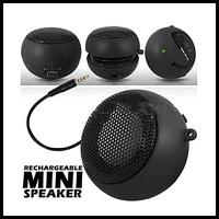 (WECUS) free shipping,Hamburg, MP3/MP4/ mobile phone / notebook computer speakers,mini portable mini speakers, the default black