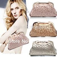 Elegant Womens Purse Stone Pattern Evening Bags Ladies Clutch Tote Handbag  Shoulder Bag SK9155