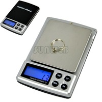 New 2000g x 0.1g Factory price wholesale 6pcs Electronic Digital Pocket Balance Weight Jewelry Scale 6773