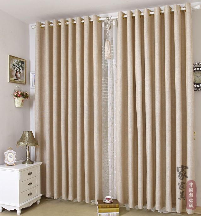 ... curtains da Grossisti flax fabric for curtains Cinesi  Aliexpress.com
