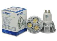 10 Pcs / Lot Gu10 9W VS 50W / 12W VS 70W / 15W VS 90W LED Dimmable Warm White or Cool White Gu10 led Light Lamp Bulbs 220V
