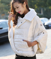 2014 winter coat jacket women down jacket jaqueta feminina casual Coat Desigual Casacos Femininos Fur Trench Cloak PU Parka