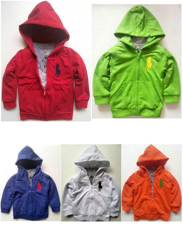 61023 child casual Hooded Sweater zipper outerwear sweatshirt 5